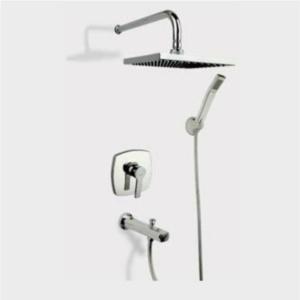 شیر حمام توکار راسان مدل فلت کلاس ۱