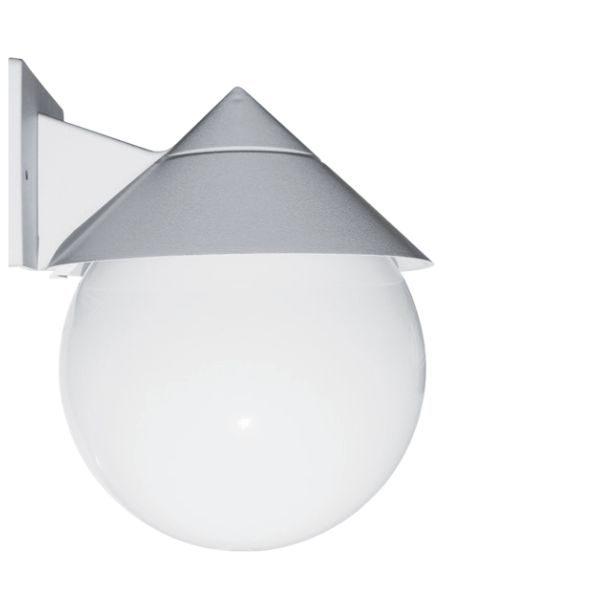 چراغ حیاطی دیواری کلاه دار شعاع مدل SH-2803-L5