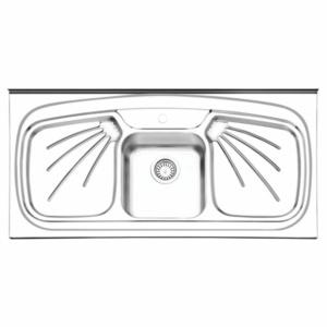سینک ظرفشویی ایلیا استیل مدل ۱۰۱۱ روکار