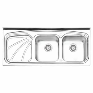 سینک ظرفشویی ایلیا استیل مدل ۱۰۲۳ روکار