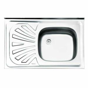 سینک ظرفشویی ایلیا استیل مدل ۱۱۱ روکار کلاسیک