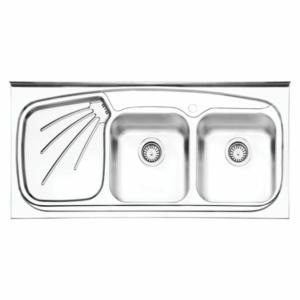 سینک ظرفشویی ایلیا استیل مدل ۳۰۱۳ روکار