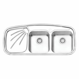 سینک ظرفشویی ایلیا استیل مدل ۴۰۱۳ توکار