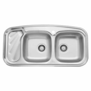سینک ظرفشویی استیل البرز مدل 200 توکار