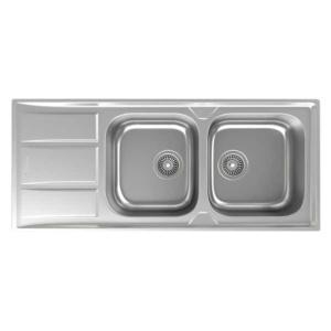 سینک ظرفشویی داتیس مدل DB-180 توکار