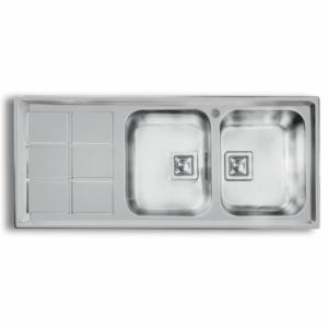 سینک ظرفشویی اخوان مدل 500S توکار