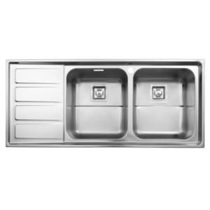 سینک ظرفشویی استیل البرز مدل 764 توکار