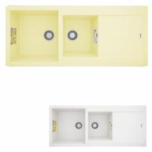 سینک ظرفشویی گرانیتی بیمکث مدل 004 BG توکار