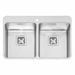 سینک ظرفشویی ایلیا استیل مدل 6012 توکار باکس