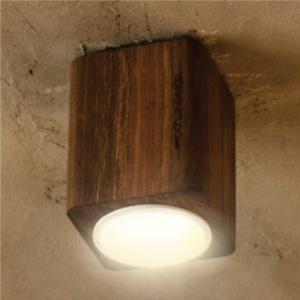 چراغ سقفی روکار چوبی شعاع SH-ECO-1301