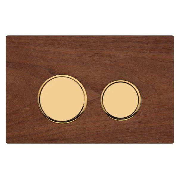 دکمه چوب گردو