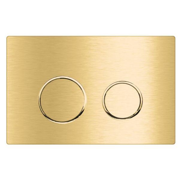 کلید استیل 1 میل طلایی خشدار