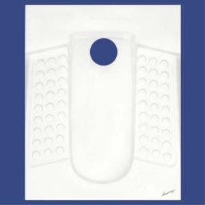 توالت ایرانی آرمیتاژ مدل آنیتا تخت و گود