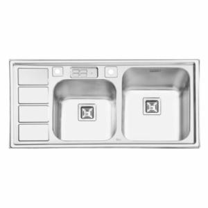 سینک ظرفشویی ایلیا استیل مدل 2052 توکار