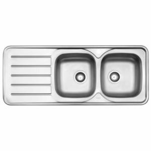 سینک ظرفشویی استیل البرز مدل 216 توکار